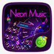 Neon Music GO Keyboard Theme