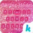 Glitter Heart Emoji Keyboard