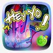 Hey Yo GO Keyboard Theme Emoji
