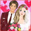 Groom & Bride Wedding dress up