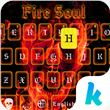 Fire Soul Emoji Keyboard Theme