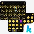 Gold Butterfly Kika Keyboard